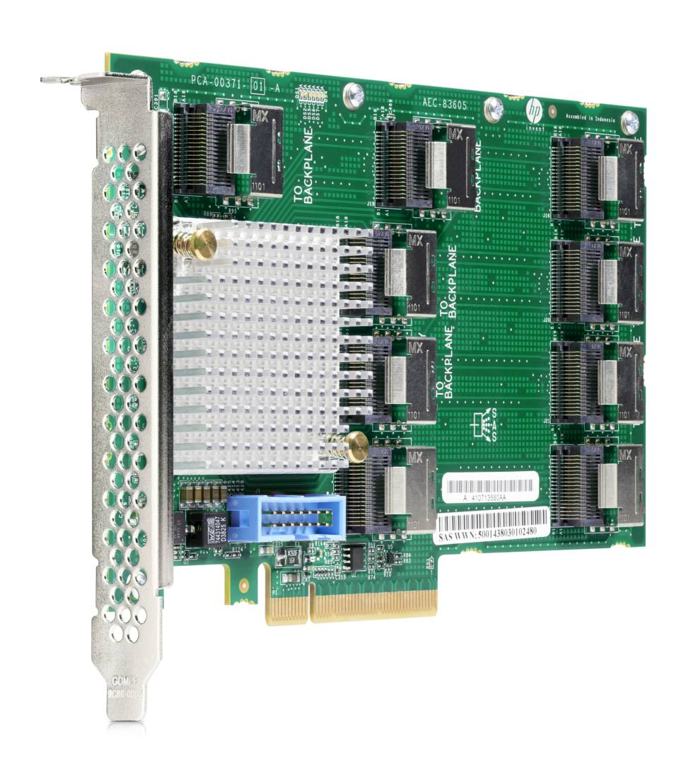 HPE DL38X Gen10 12Gb SAS Expander Card Kit