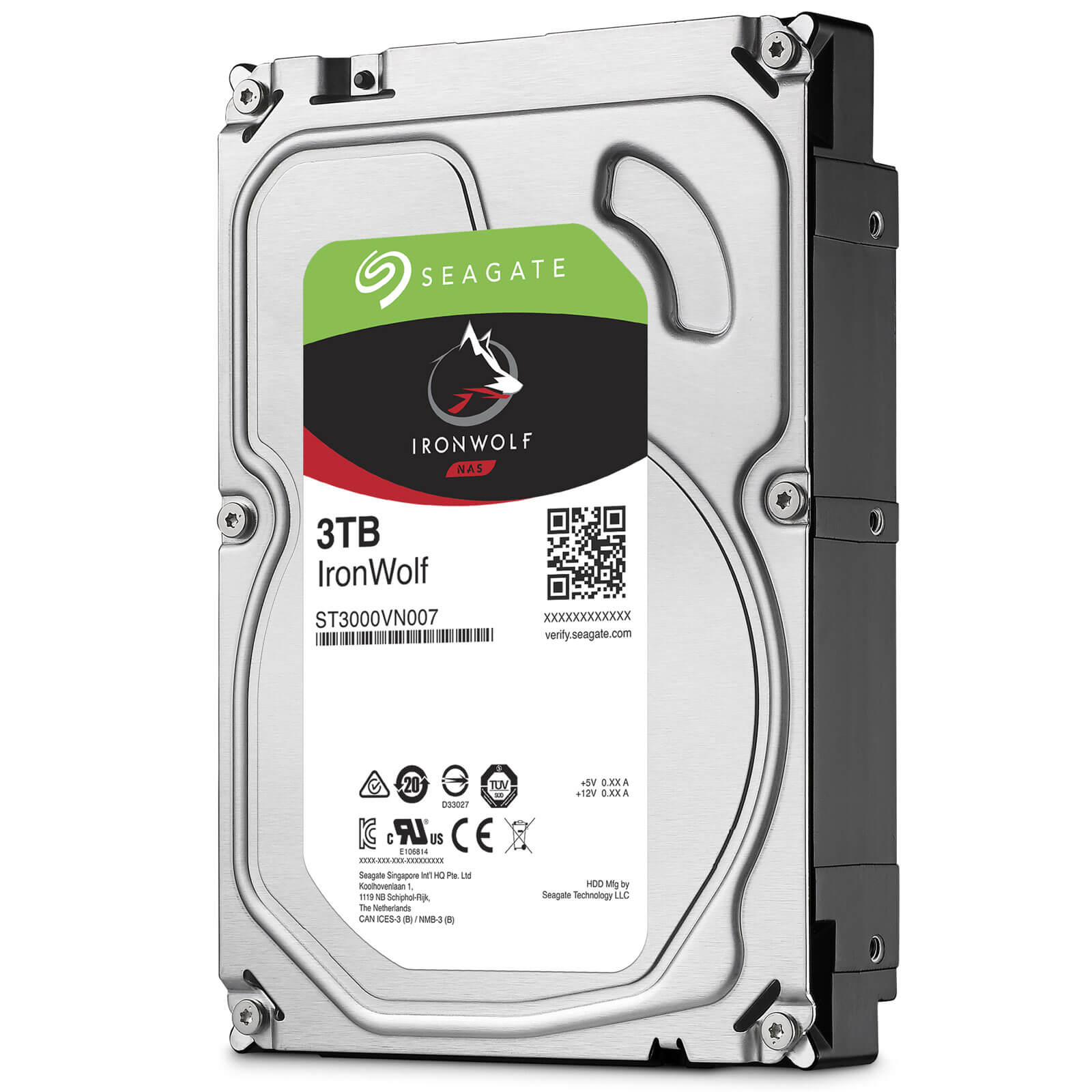 3TB Seagate NAS IronWolf 64MB 3.5